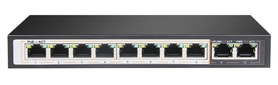 SPE128D SWITCH INTERNEC  / 100Mbps / VLAN / 10 portów / 2 + 8PoE