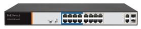 SPE10216D SWITCH INTERNEC  / 100Mbps / VLAN / 18 portów / 2Gb + 2SFP + 16PoE / RACK