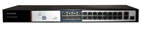 SPE10224E SWITCH INTERNEC  / 26 portów / 2Gb + 1SFP + 24PoE / RACK (1)