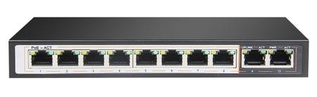 SPE1028E SWITCH INTERNEC  / 10 portów / 2GB + 8PoE (1)