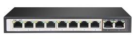 SPE128E SWITCH INTERNEC  / 10 portów / 2FE + 8PoE