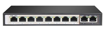 SPE128E SWITCH INTERNEC  / 10 portów / 2FE + 8PoE (1)
